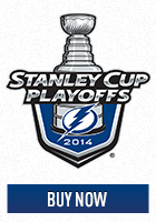 Tampa Bay Lightning 2014 Stanley Cup Playoff Hockey Ticket